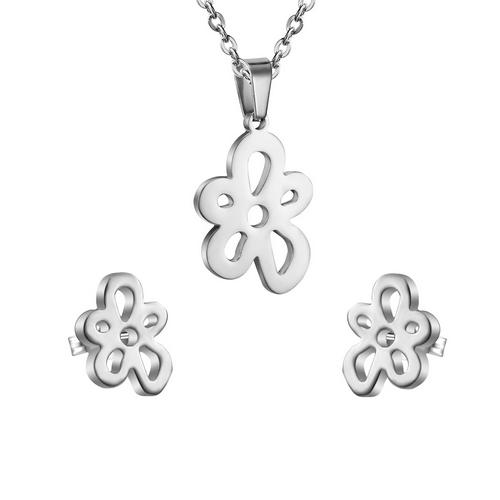 Set šperkov z chirurgickej ocele, kytičky