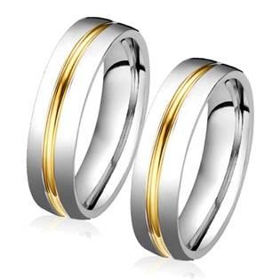 Ocelový snubní prsten OPR0039