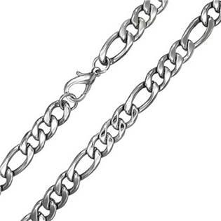 OPE1010-100-60 Ocelový řetěz figaro, tl. 10 mm, délka 60 cm
