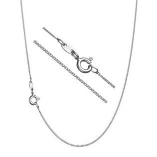 """Stříbrný řetízek """"pancer"""", tl. 1,3 mm, délka 38 cm"""