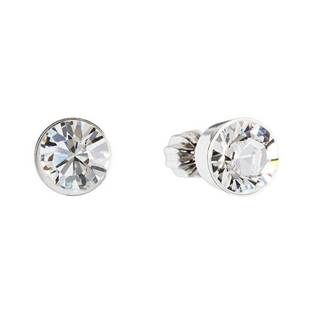 Stříbrné náušnice s krystaly Crystals from Swarovski® Crystal