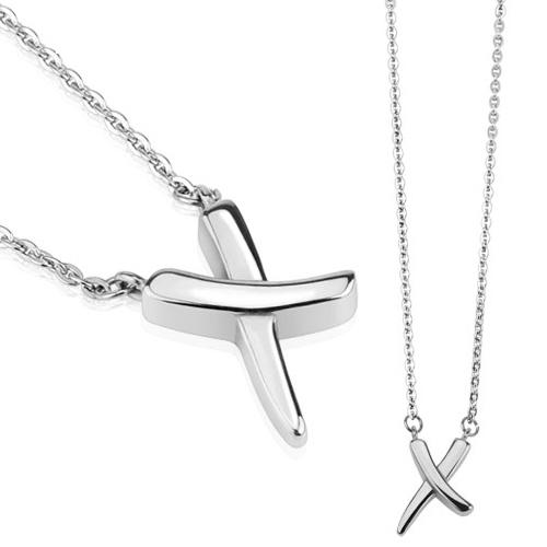 Dámsky oceľový náhrdelník