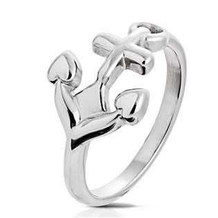 Ocelový prsten kotva