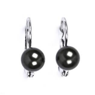 CS5106-K Stříbrné náušnice přírodní perly 5,5 mm