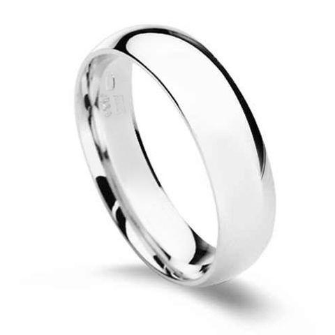 CS2041-5 Pánsky strieborný prsteň, šírka 5 mm