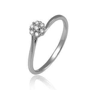 Zlatý zásnubný prsteň Avro Diamonds