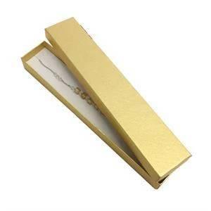 Dárková krabička na náramek, zlatá