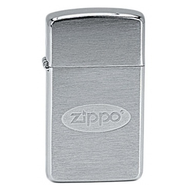 ZIPPO Slim Zippo Oval Logo 21248