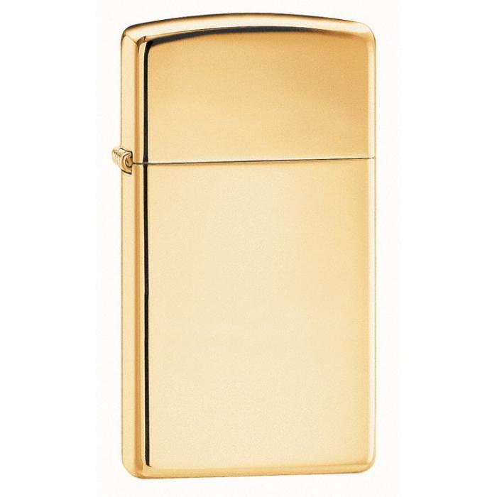 ZIPPO Slim High Polish Brass 24070
