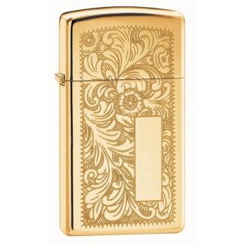 ZIPPO Slim Venetian Gold 24066