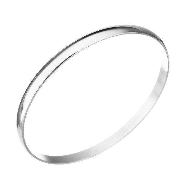 Dámsky oceľový náramok kruh