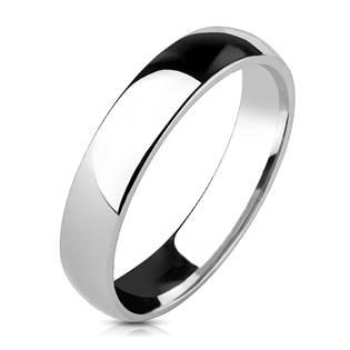 Levně NUBIS® NSS1011 Pánský snubní prsten, šíře 4 mm - velikost 63 - NSS1011-63