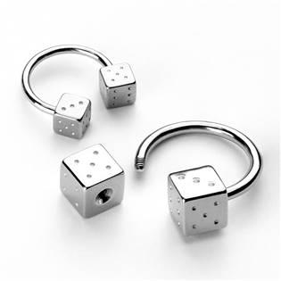 Podkova - hrací kostky