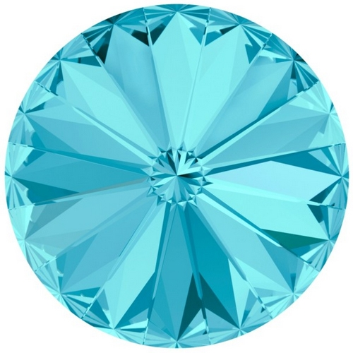 Crystals Swarovski® RIVOLI 14 mm, AQUAMARINE