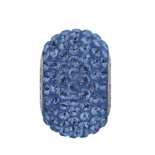 Navlékací přívěšek korálek s krystaly Swarovski®, Sapphire