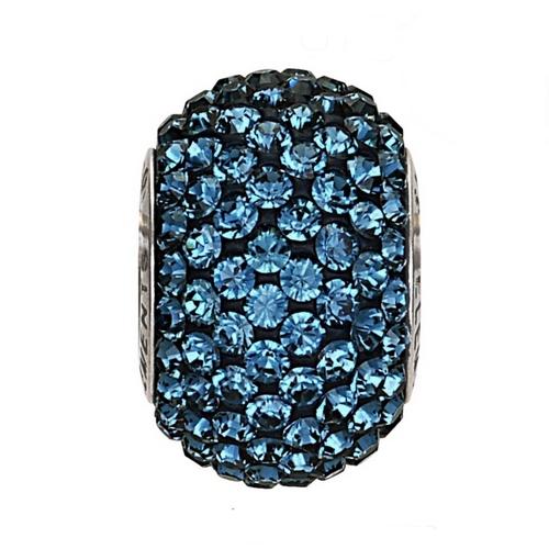 Navlékací přívěšek korálek s krystaly Swarovski®, Montana