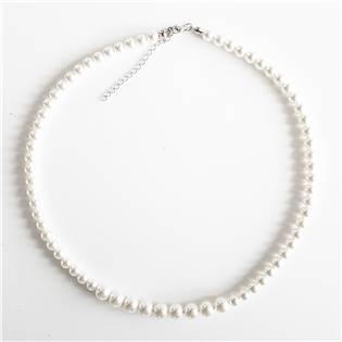 Perlový náhrdelník s bílými perlami Crystals from Swarovski®