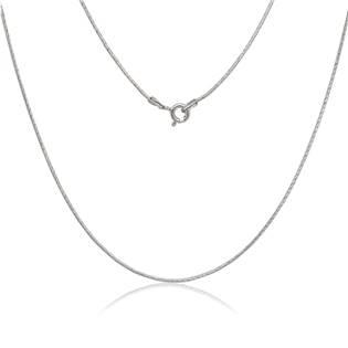 Stříbrný řetízek - had 1,2 mm, délka 50 cm