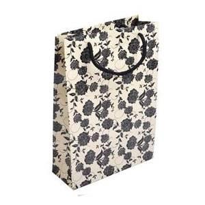 Dárková taška VELKÁ s ornamenty