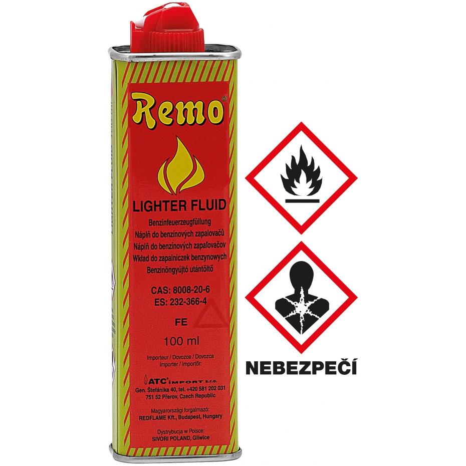 Benzín do zapaľovača Remo