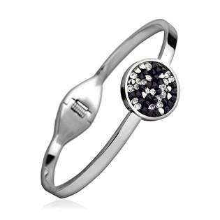 Ocelový náramek s krystaly Crystals from Swarovski® PEPPER