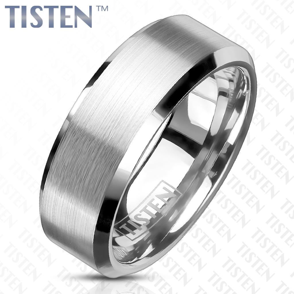 Matný snubný prsteň TISTEN, šírka 6 mm, veľ. 52