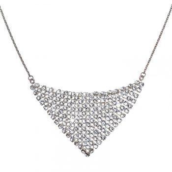 Strieborný náhrdelník s kryštálmi Crystals from Swarovski®Crystal