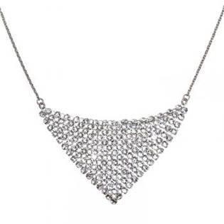 Stříbrný náhrdelník s krystaly Crystals from Swarovski®Crystal