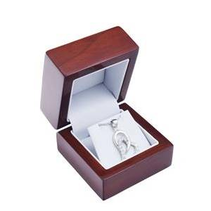 Šperky4U Dřevěná dárková krabička na soupravu - KR0173-BR