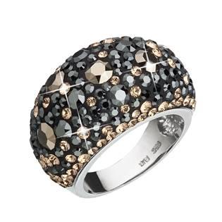 EVOLUTION GROUP CZ Stříbrný prsten s krystaly Crystals from Swarovski®, Colorado - velikost 54 - 35028.4