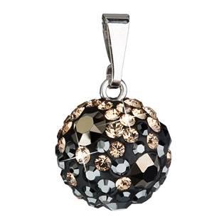 Stříbrný přívěšek s kulička Crystals from Swarovski® Colorado