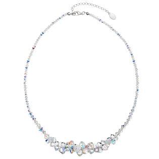 Stříbrný náhrdelník s krystaly Crystals from Swarovski® AB