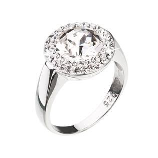 Stříbrný prsten Crystals from Swarovski®, Crystal