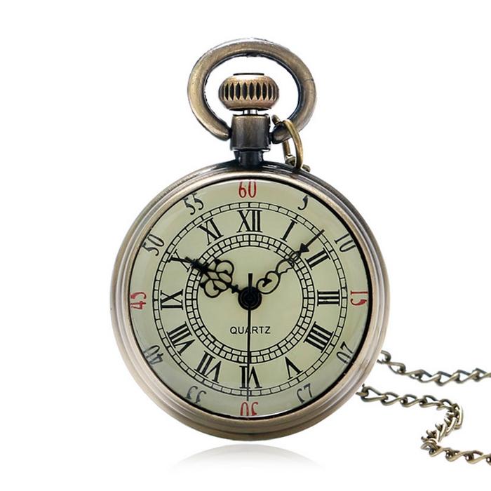 Retro vreckové hodinky - cibule malé