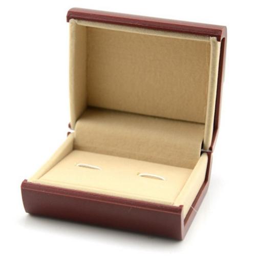Plastová krabička na manžetové gombíky
