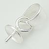 Stříbrný přívěšek koule 10 mm s krystaly Crystals from Swarovski®, Turquise