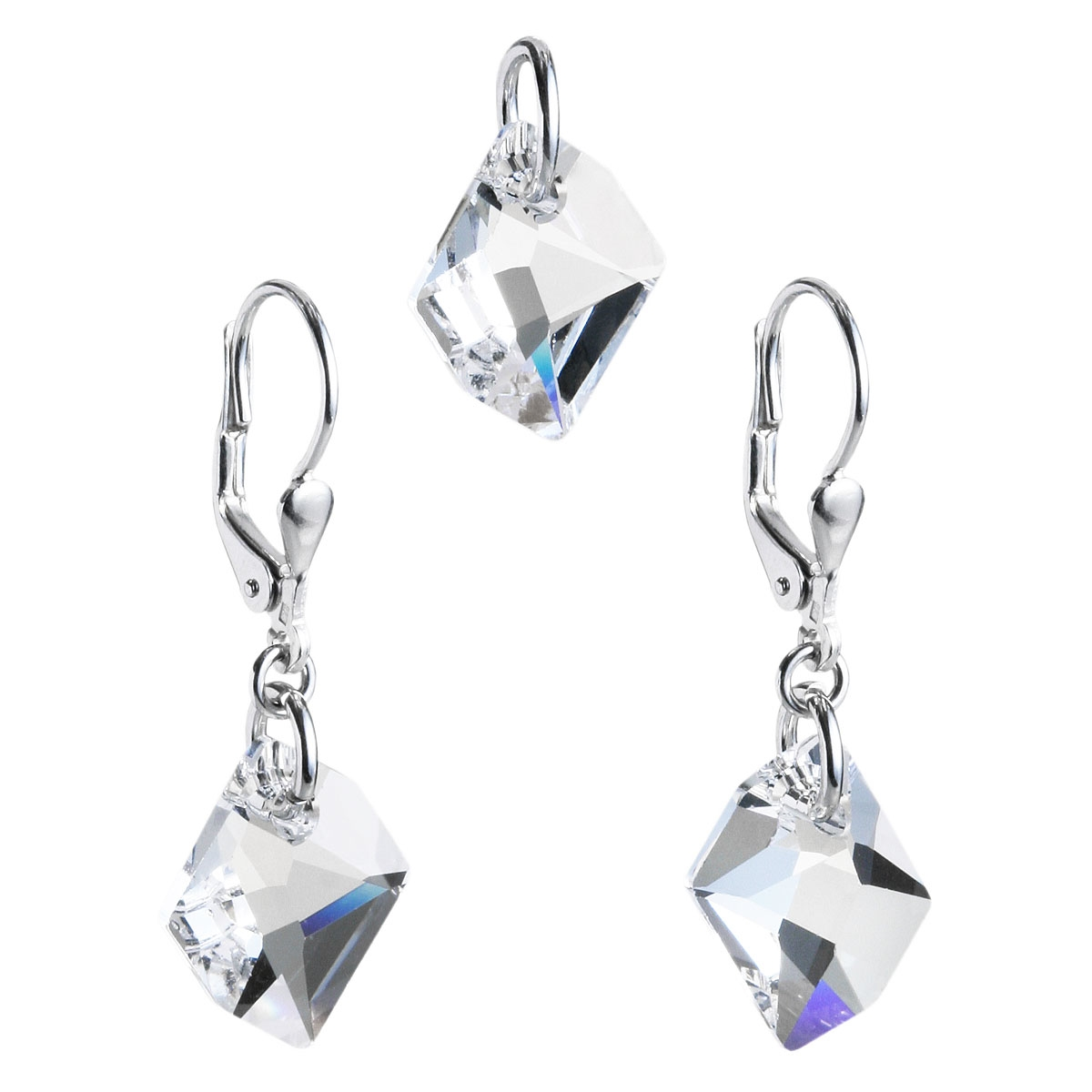 Sada šperkov s kameňmi Crystals from Swarovski ® Crystal