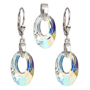 Sada šperků ovály Crystals from Swarovski® AB
