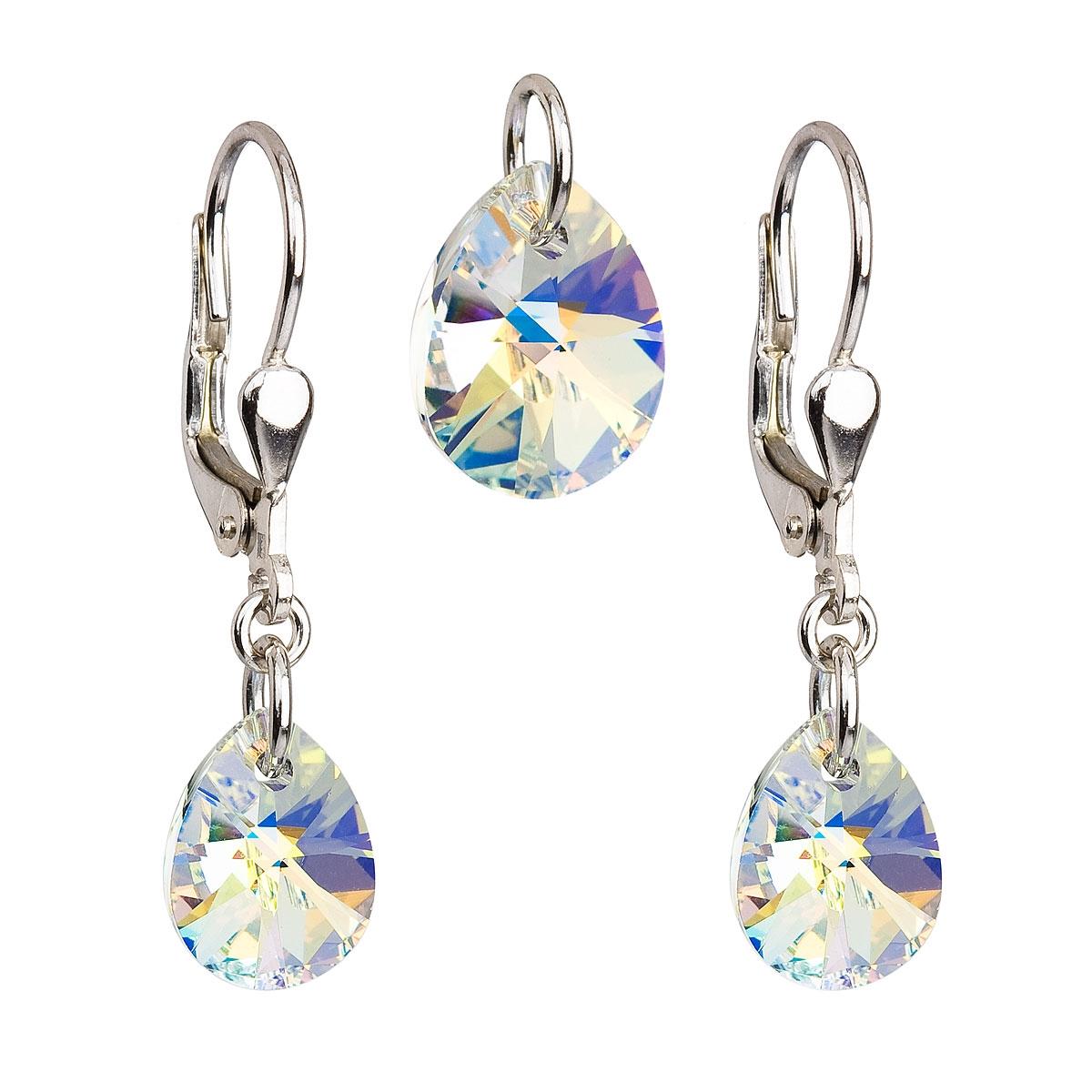 Sada šperků - kapky Crystals from Swarovski® AB EG3032-AB