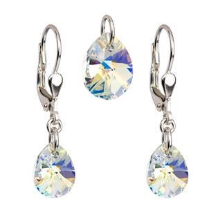 Sada šperků - kapky Crystals from Swarovski® AB