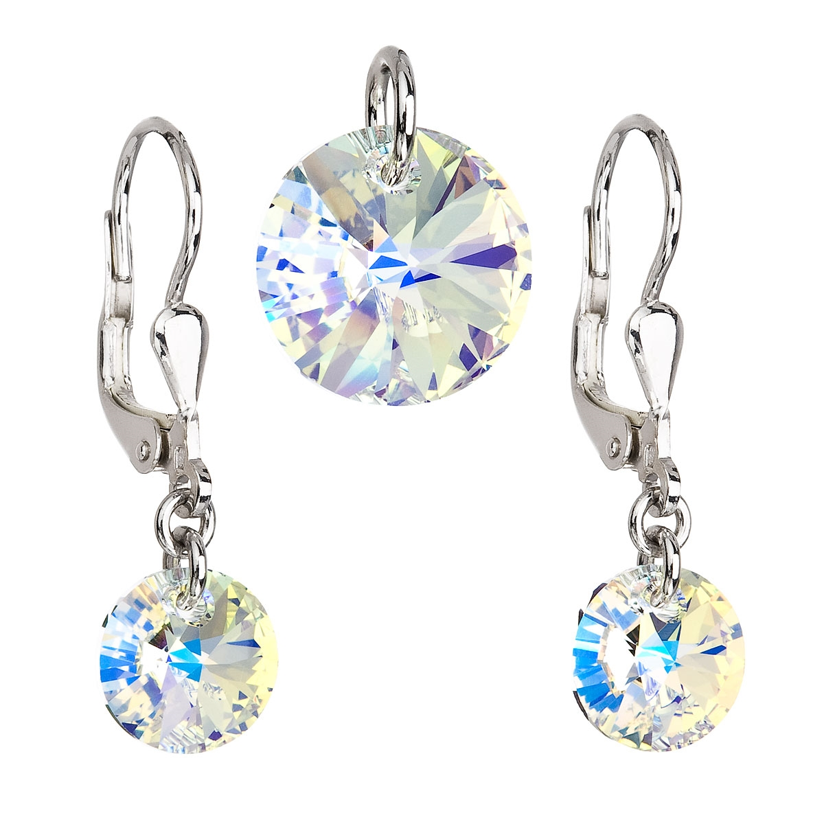Sada šperků s kamínky Crystals from Swarovski® AB EG3035-AB