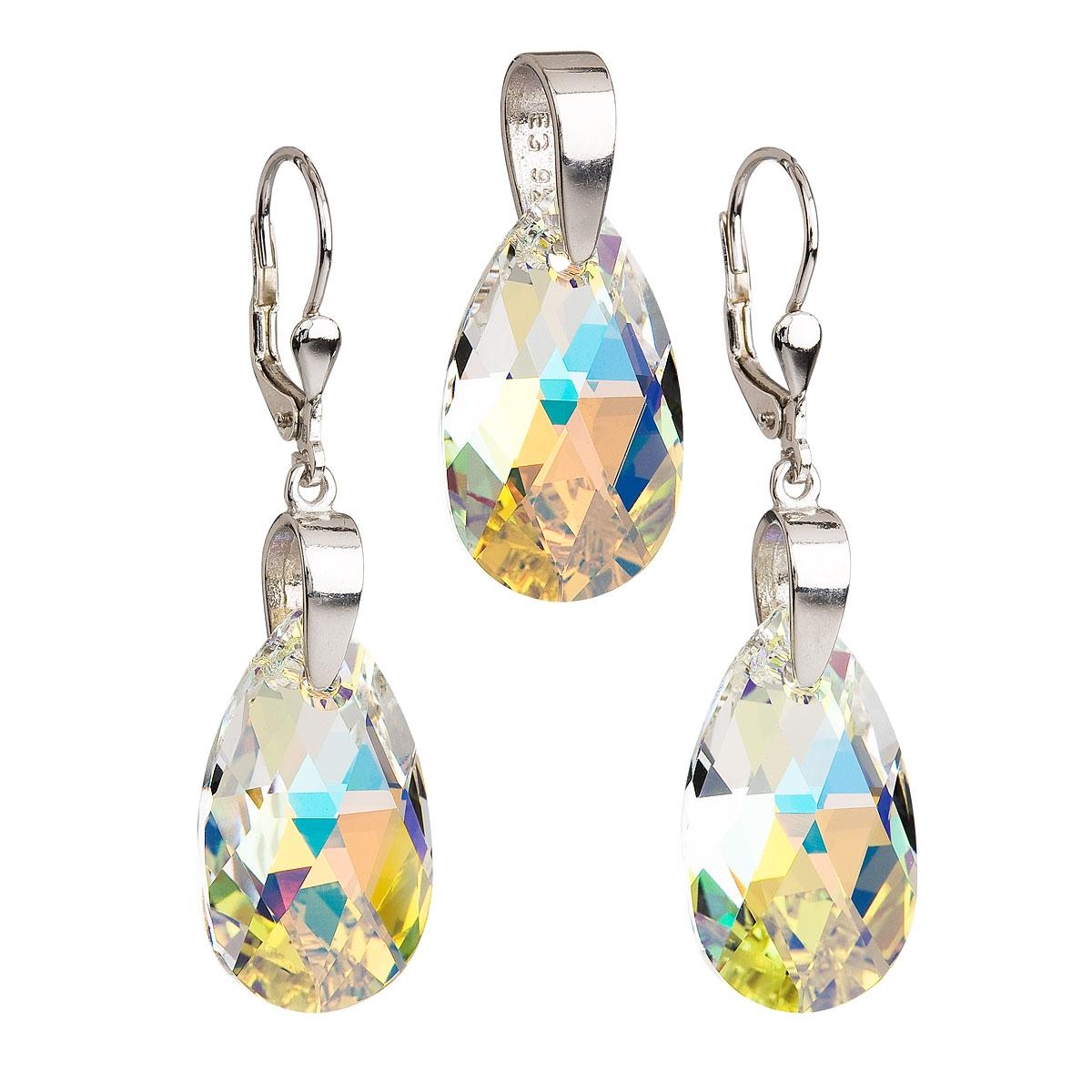 Sada šperků slzy Crystals from Swarovski® AB EG3030-AB