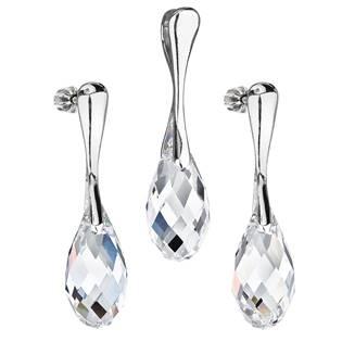 Sada šperků slzičky Crystals from Swarovski® Crystal