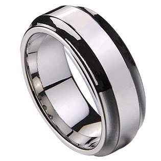 Levně NUBIS® NWF1004 Pánský snubní prsten - velikost 67 - NWF1004-67