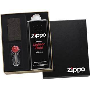 ZIPPO dárková krabička s benzínem a kamínky