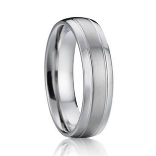 Levně 7AE AN1015 Pánský snubní prsten - velikost 54 - AN1015-P-54