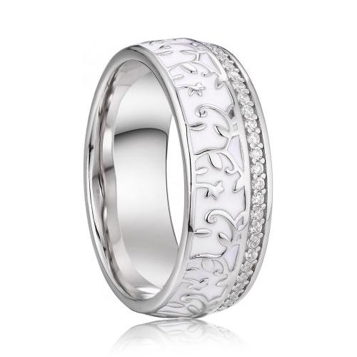 AN1037 Dámsky snubný prsteň striebro AG 925/1000