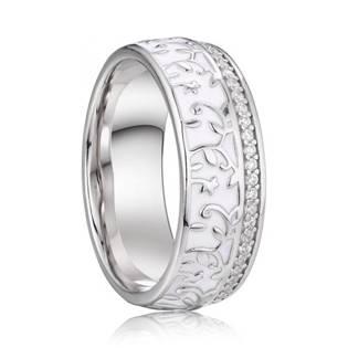 AN1037 Dámský stříbrný snubní prsten
