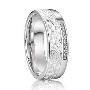 AN1038 Dámský stříbrný snubní prsten