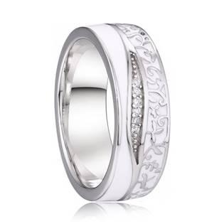 AN1039 Dámský stříbrný snubní prsten